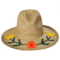 Jenna II Raffia Straw Western Hat in