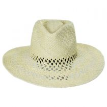Hampton Raffia Straw Fedora Hat alternate view 2