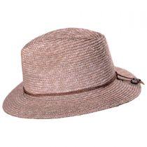 Lera Straw Fedora Hat in