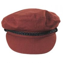 Ashland Herringbone Cotton Fiddler Cap alternate view 27
