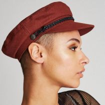 Ashland Herringbone Cotton Fiddler Cap alternate view 31