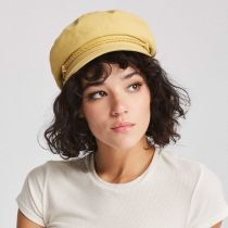 Leather Band Cotton Fiddler Cap alternate view 11