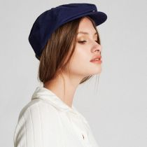 Brood Adjustable Newsboy Cap in
