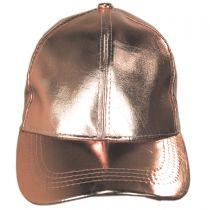 Metallic Adjustable Baseball Cap alternate view 2