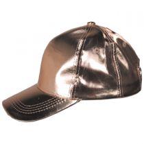 Metallic Adjustable Baseball Cap alternate view 3