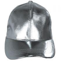 Metallic Adjustable Baseball Cap alternate view 6