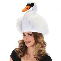 Swan Faux Fur Hat alternate view 4