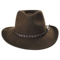 Cougar Packable Wool Felt Western Hat alternate view 10