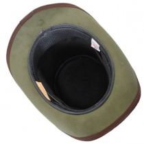 Absinthe Leather Stove Piper Top Hat alternate view 5