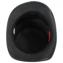 El Dorado Lace Concho Leather Top Hat in