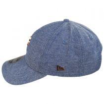 Golden State Warriors 9Twenty Badged Strapback Baseball Cap Dad Hat alternate view 3