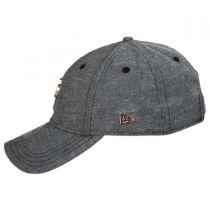 Atlanta Hawks 9Twenty Badged Strapback Baseball Cap Dad Hat alternate view 3