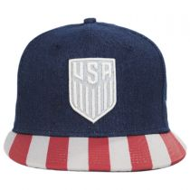 US Soccer Fully Flagged 9Fifty Snapback Baseball Cap alternate view 2