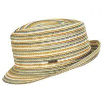 Spacedyed Braid Trilby Fedora Hat in