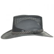 Monterey Bay Breeze Leather and Mesh Hat alternate view 10