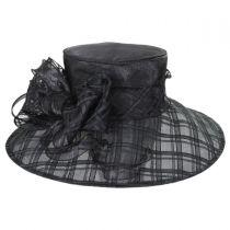 Odette Organza Down Brim Hat alternate view 2