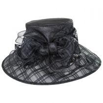 Odette Organza Down Brim Hat alternate view 3