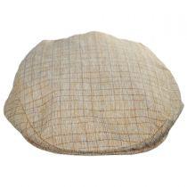 Tattersall Windowpane Plaid Ivy Cap in
