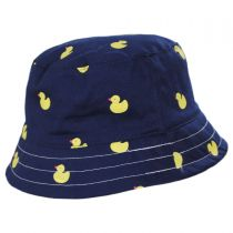 Kids' Pattern Cotton Bucket Hat in