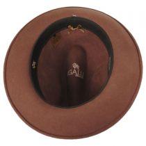 Rachel Wool Felt Fedora Hat in