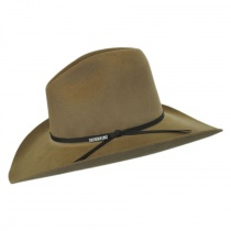 John Wayne Peacemaker Wool Felt Western Hat in