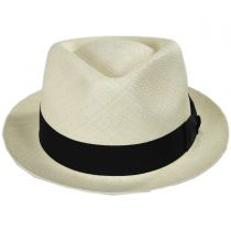 Boston Panama Straw Trilby Fedora Hat alternate view 14
