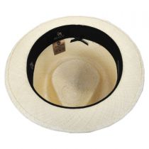 Boston Panama Straw Trilby Fedora Hat alternate view 16