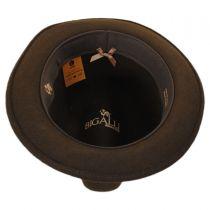 Milano Wool Felt Trilby Fedora Hat in