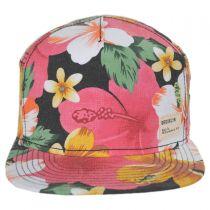 Ohana Strapback Baseball Cap Dad Hat - Pink in