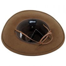 Wilderness Wool Felt Outback Hat in