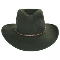 Gallatin Crushable Wool Felt Outback Hat alternate view 6