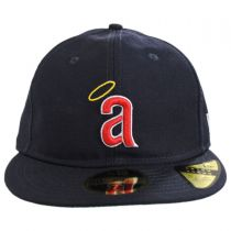 Los Angeles Angels MLB Retro Fit 59Fifty Fitted Baseball Cap in