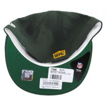 Green Bay Packers NFL Retro Fit 59Fifty Fitted Baseball Cap in