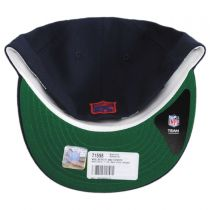 New England Patriots NFL Retro Fit 59Fifty Fitted Baseball Cap in