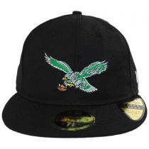 Philadelphia Eagles NFL Retro Fit 59Fifty Fitted Baseball Cap alternate view 2