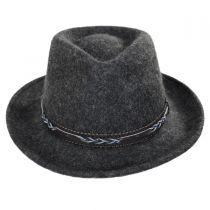 Boaqueria Wool Felt Fedora Hat in