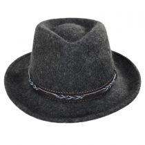 Boaqueria Wool Felt Fedora Hat alternate view 2