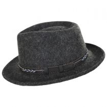 Boaqueria Wool Felt Fedora Hat alternate view 3
