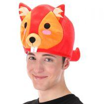 Red Squirrel QuirkyKawaii Hat alternate view 4