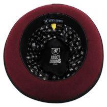 Two Tone Wool Felt Fedora Hat in