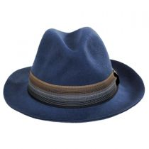 Gradient Wool Felt Fedora Hat in