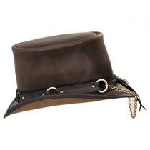 SR2 Leather Top Hat in