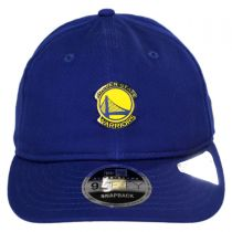 Golden State Warriors NBA Badged Fan 9Fifty Snapback Baseball Cap alternate view 2