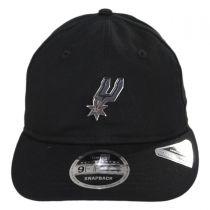 San Antonio Spurs NBA Badged Fan 9Fifty Snapback Baseball Cap alternate view 2