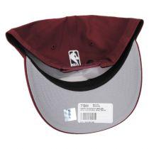 Cleveland Cavaliers NBA Badged Fan 9Fifty Snapback Baseball Cap alternate view 4