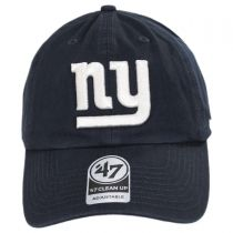 New York Giants NFL Clean Up Legacy Strapback Baseball Cap Dad Hat alternate view 2