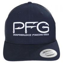 PFG Hook Trucker Snapback Baseball Cap alternate view 2