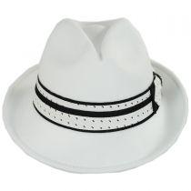 Tie Band Ultrafelt Fedora Hat in