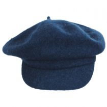 Boiled Wool Newsboy Flat Cap alternate view 2