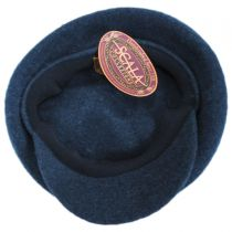 Boiled Wool Newsboy Flat Cap alternate view 4